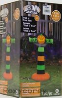 Halloween Gemmy 3.5 ft Trick or Treat Sign Airblown Inflatable NIB