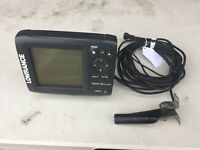 Lowrance Mark-5x DSI, with mounting base, power cable and transducer