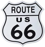 US Route 66 SHIELD Vintage Retro Tin Metal Sign 12 x 12in