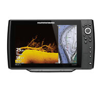 Expedited Delivery! Humminbird HELIX 12 CHIRP MEGA DI Fishfinder/GPS Combo