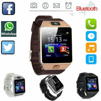 Bluetooth Smart Watch w Camera Waterproof Phone Mate for Android Samsung iPhone $12.99