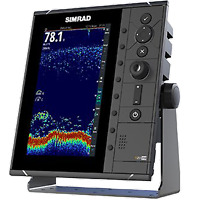 Simrad 9 in. Fishfinder w/ Broadband Sounder Module & CHIRP Technology
