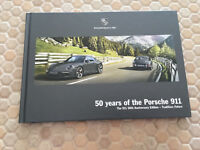 PORSCHE 991 911 50th ANNIVERSARY PRESTIGE SALES BROCHURE USA EDITION 2013-2014