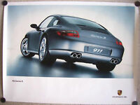 PORSCHE OFFICIAL ORIGINAL 911 997 CARRERA S SHOWROOM POSTER 2005-2008