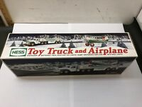 2002 Hess Toy Truck & Airplane New In Box NIB