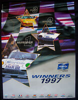 PORSCHE OFFICIAL 993 911 CARRERA SUPERCUP VICTORY SHOWROOM POSTER 1997