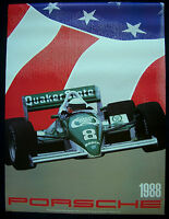 PORSCHE OFFICIAL INDY CAR CART RACING SERIES SHOWROOM ADVERTISING POSTER 1988