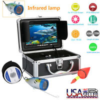 7Inch 1000tvl Underwater Fishing Video Camera Kit LED  Infrared Lights Video Cam