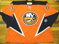 4e0c8ed0fe5 VINTAGE KOHO NHL NEW YORK ISLANDERS GARTH SNOW ORANGE JERSEY SIZE 2XL