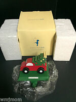 Pottery Barn Kids PULL TOY Stocking Hanger Holder Holiday Christmas Tree NEW
