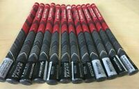13X New Golf Pride MCC Plus 4 Golf Club Grips Set MIDSIZE Size #C-MM6 (Red)