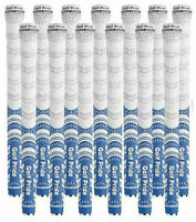 13x Golf Pride New Decade MultiCompound Whiteout MCC Grips Standard (Blue/White)