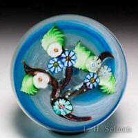 Chris Sherwin 2019 millefiori nosegay branch glass paperweight