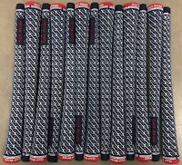 13x Set Golf Pride Z-Grip Golf Grips Set Size STANDARD Patriot Blue Red USA