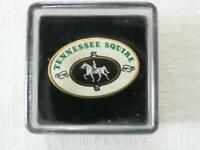 JACK DANIELS TENNESSEE SQUIRE LAPEL PIN IN THE ORIGINAL BOX