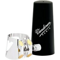 Vandoren Optimum Bass Clarinet Silver-plated Ligature &Plastic Cap Bass Clarinet