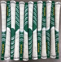 13x Golf Pride New Decade MultiCompound Whiteout MCC Grips Standard Green/White