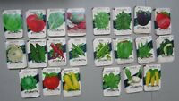 Wholesale Lot of 550 Old Vintage Vegetable SEED PACKETS - 15 cent - EMPTY