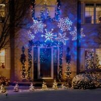 HOLIDAY OUTDOOR PROJECTION LIGHTING AND LIGHT CHANGING HOLIDAY STRING LIGHTS