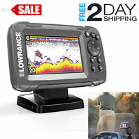 Freshwater Fish Finder Saltwater Electric Boat Fishing Depth Locator Tracker New