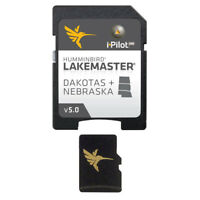 Expedited Delivery! HumminbIrd Lakemaster Chart - Dakotas/Nebraska - MicroSD/SD