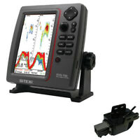Expedited Delivery! SI-TEX SVS-760 Dual Frequency Sounder 600W Kit w/Transom Mou