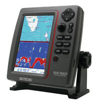 Expedited Delivery! SI-TEX SVS-760CF Dual Frequency Chartplotter/Sounder w/ Navi