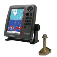 Expedited Delivery! SI-TEX SVS-760CF Dual Frequency Chartplotter/Sounder w/Navio