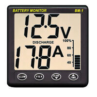 Expedited Delivery! Clipper Battery Monitor Instrument BM-1