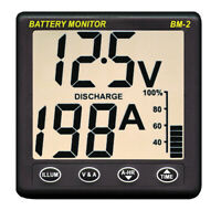 Expedited Delivery! Clipper BM-2 Battery Monitor w/Shunt - 200Amp BM-2