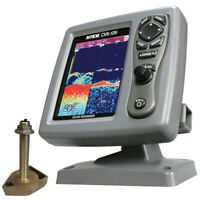 SI-TEX CVS-126 Dual Frequency Color Echo Sounder w/600kW Thru-Hull Transducer 17