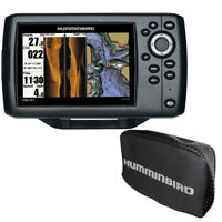 Expedited Delivery! Humminbird HELIX® CHIRP SI GPS G2 Combo w/Free Cover 410