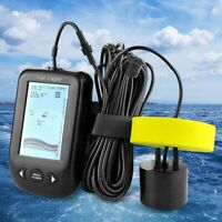 Xf02 45 Degrees Portable Wired Sonar Sounder Fish Finder Depth 100M Echo So P4O2