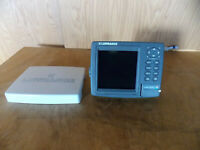 Lowrance LMS-339c df Fishfinder GPS Display (Head Unit W/Cover Only) NEVER USED