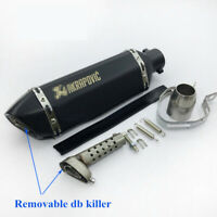 Universal 38-51mm Exhaust Muffler Shorty Pipe Tail DB Killer for Motorcycle ATV