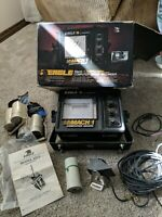 Eagle by Lowrance Mach 1 Computer Graph Fish Finder Console & Transducer & Paper