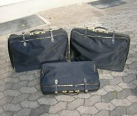 3 PORSCHE SUITCASE LUGGAGE CAR ACCESSORY 356 911 ORIGINAL PORSCHE SET