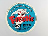 Vintage 1940's Frostie Root Beer Take Home a Carton 5.75