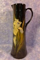 Weller  Art Pottery Antique DICKENSWARE BEAUTIFUL SIGNED A.H.