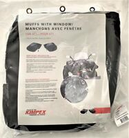 SNOWMOBILE ATV HAND WARMING MUFFS WITH CLEAR Kimpex Visi-Control Muffs 370290