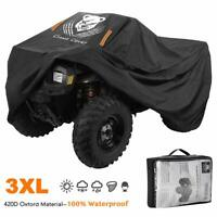 ATV Cover Heavy Duty Waterproof 3XL 101 Inches 420D Oxford Cloth Quad ATC 4 Whee