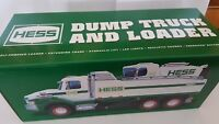 HESS TRUCK 2017  DUMP TRUCK AND LOADER   NEW....NEVER  REMOVED FROM BOX..