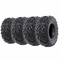 Set of 4 ATV UTV Tires 25x8x12 Front & 25x10x12 Rear 6PR 25x8-12 25x10-12