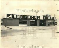 1969 Press Photo New Schwegmann Armstrong Tire facility on Airline Highway.