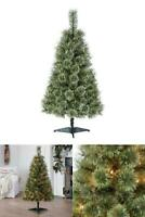 4 ft Green Pre-Lit Canadian Cashmere Artificial Christmas Tree