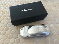 PORSCHE TAYCAN SOLID ALUMINUM BILLET Ltd EDITION 1/43rd MODEL NEW BOXED 2020