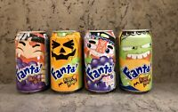 🍊🎃Fanta Cans Complete Set HALLOWEEN Limited Edition, Hong Kong 🇭🇰2007, 330ml