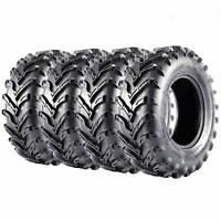 Set of 4 ATV Tires 25x8-12 Front & 25x10-12 Rear UTV Tire 25x8x12 25x10x12 6PR