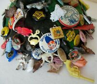 Vintage Beanie With Cracker Jack/Gumball Toys, Pins, Photos, Books, Grape Nuts