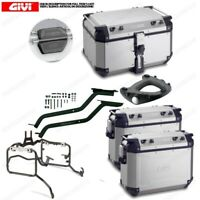 Set Givi Bauletto OBKN58A & Suitcases OBKN37A BMW R 1200 GS Adventure (14  16)
